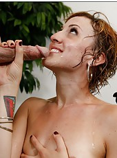 Slutty babe Dylan Ryan spreads her legs for a hardcore fuck