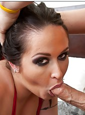 Busty whore Carmella Bing like to be fucked from behind with a hard cock