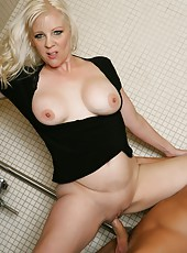 Magnificent philander Veronica Vaughn likes to be drilled only in doggystyle