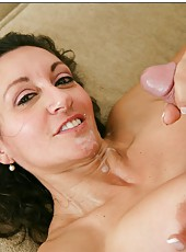 Adorable whore Persia Monir demonstrating hairy snatch and gets nailed