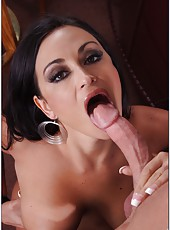 Wonderful housewife Claudia Valentine banging hard with a young boy