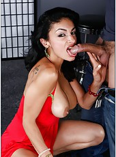 Amazing whore Persia Pele wants to be drilled hard during work hours