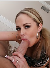 Dream tits and trimmed gentle pussy in the action by hot milf Katie Kox