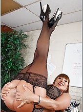 Dangerously hot milf Ava Devine needs to be fucked really hard to get pleasure