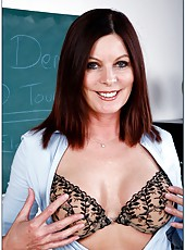 Milf Magdalene St. Michaels needs to be fucked by really powerful dick