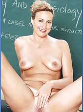 Naughty teacher Joey Lynn comes to work to get real delight everyday