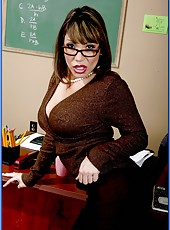 Super busty Mrs. Ava Devine is a professional bitch and she proves it him