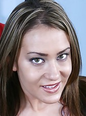 Trina Michaels surprises us with her big tits and awesome interracial fuck