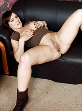 Spoiled wife Wendy Taylor sure loves doing naughty things in solo actions