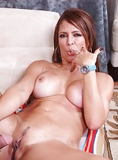 High-class whore Monique Fuentes surely prefers riding on big hard rods