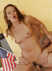 Dazzling hooker Inari Vachs prefers tasting big dicks and fucking hard
