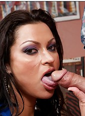 Fantastic pornstar Nikita Denise prefers to swallow big hard wieners