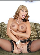 Brillant whore Ava Devine showing her awesome body and spreading sissy