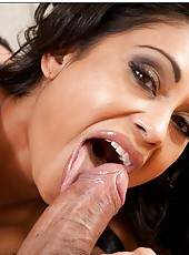 Radiant wife Priya Anjali Rai making a deepthroat and fucking in various poses
