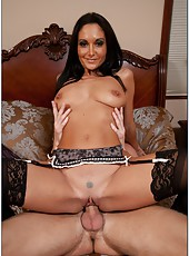 Zealous bitch Ava Addams prefers to be nailed like young nasty sluts