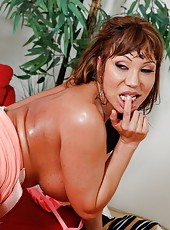 Bewitching mature Ava Devine using big ass to please her boyfriend