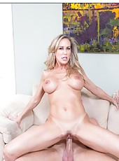 Winsome girl Brandi Love can