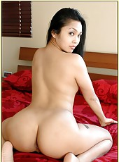 Gentle Asian girlfriend Mika Tan masturbates and gets a cock in the holes