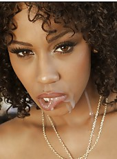Ebony milf Misty Stone is having hardcore fuck in the kitchen