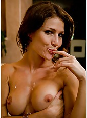 Skinny milf babe Jenni Lee is demonstrating her passion for hardcore sex