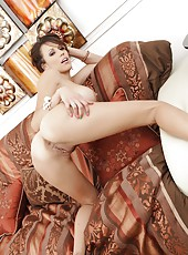 Appealing babe Layla Rivera fingering vagina and reaching multiple orgasms