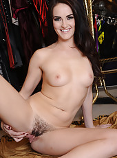 Amazing brunette with small tits Bianca Breeze gets brutally penetrated
