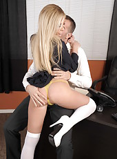 Babe Tasha Reign being fucked in missionary pose by that hardcore fucker
