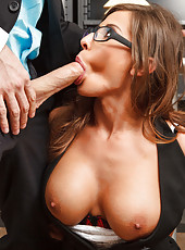 Horny and naughty MILF Madison Ivy being nailed in all of her holes