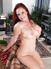 Busty mature Shelly Jones from AllOver30 showing wonderful pink