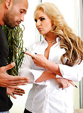 Professor Marie wanted to talk to Karlo about not paying attention to her instruction and trying to finger another girl in the class! She believes those young college chicks are a waste of Karlo