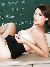 Professor Charlie James is beginning her career. On her first day, her first student walks in and it it�s her old fuck-buddy. Professor James had been so busy with preparing; she left him hanging. They never took their relationshi