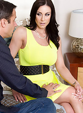 Kendra Lust gets a ride to the resort from her son