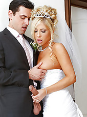 It's Tasha Reign's wedding day. She's got a little bit of cold feet though because she realizes that she will never be able to fuck anyone else for the rest of her life. Luckily, her fiances's best man, Ryan, is there to help her out.