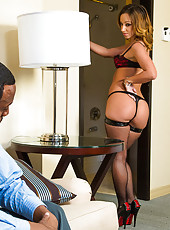 As a world famous R&B artist, I see many ladies shaking their ass on set of my music videos. One girl stood out though. Jada Stevens. I didn