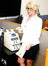 Phoenix is just too nice of a boss and lets her employee push her around. Phoenix interrupts him while he is trying to solve his puzzle cube because she wants to make sure he's going to get the reports on time to her tomorrow. Johnny tells her that h