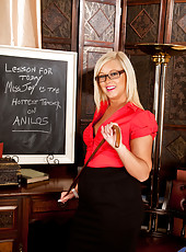Anilos lesson for the day is Miss Anna Joy looking seductive in her lingerie