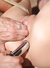 Susan Ayn toy fucked and humiliated