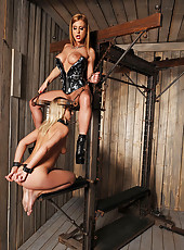 Lucy Heart gets spanked by mistres