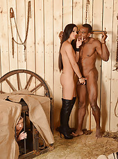 Dominatrix Forces 2 Into Submission