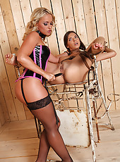 Sub Gets Tortured By Kinky Mistress