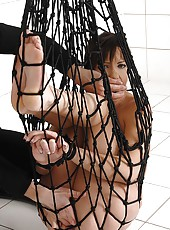 Slave Girl Alysa Whipped & Gaped