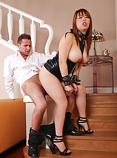 Tigerr Benson Leashed & Ass-Fucked