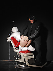 Girl Mummified, Fingered & Spanked
