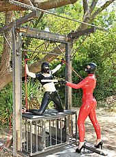 At The Total Mercy Of Ruby Rubber