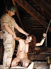 Captive Forced To Give Up Her Ass