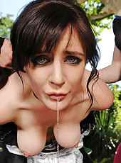 Samantha Bentley gets gagged good
