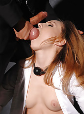 Nataly gets her bung hole porked!