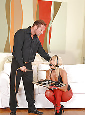 Slave girl Ivana Sugar is mastered!