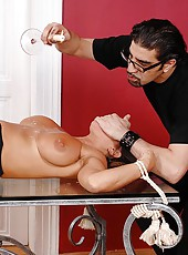 Bound Sexy Susi hot waxed & spanked