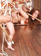 Sexy Severin gets bound & spanked